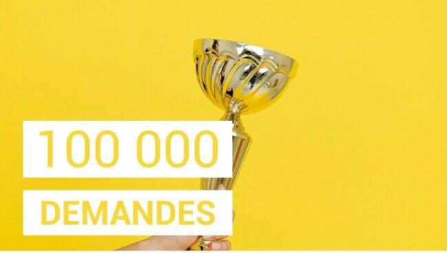 100 000 DEMANDES SUR FRPA