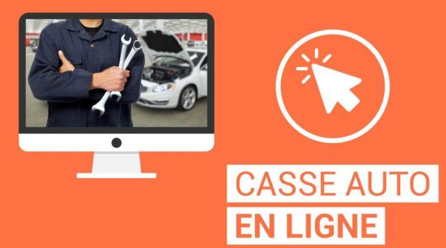Casse automobile en ligne