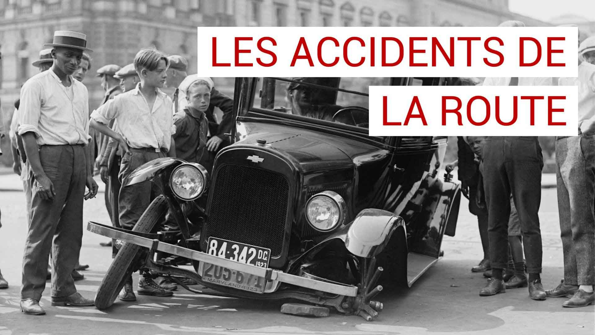 Les accidents de la route, l'analyse