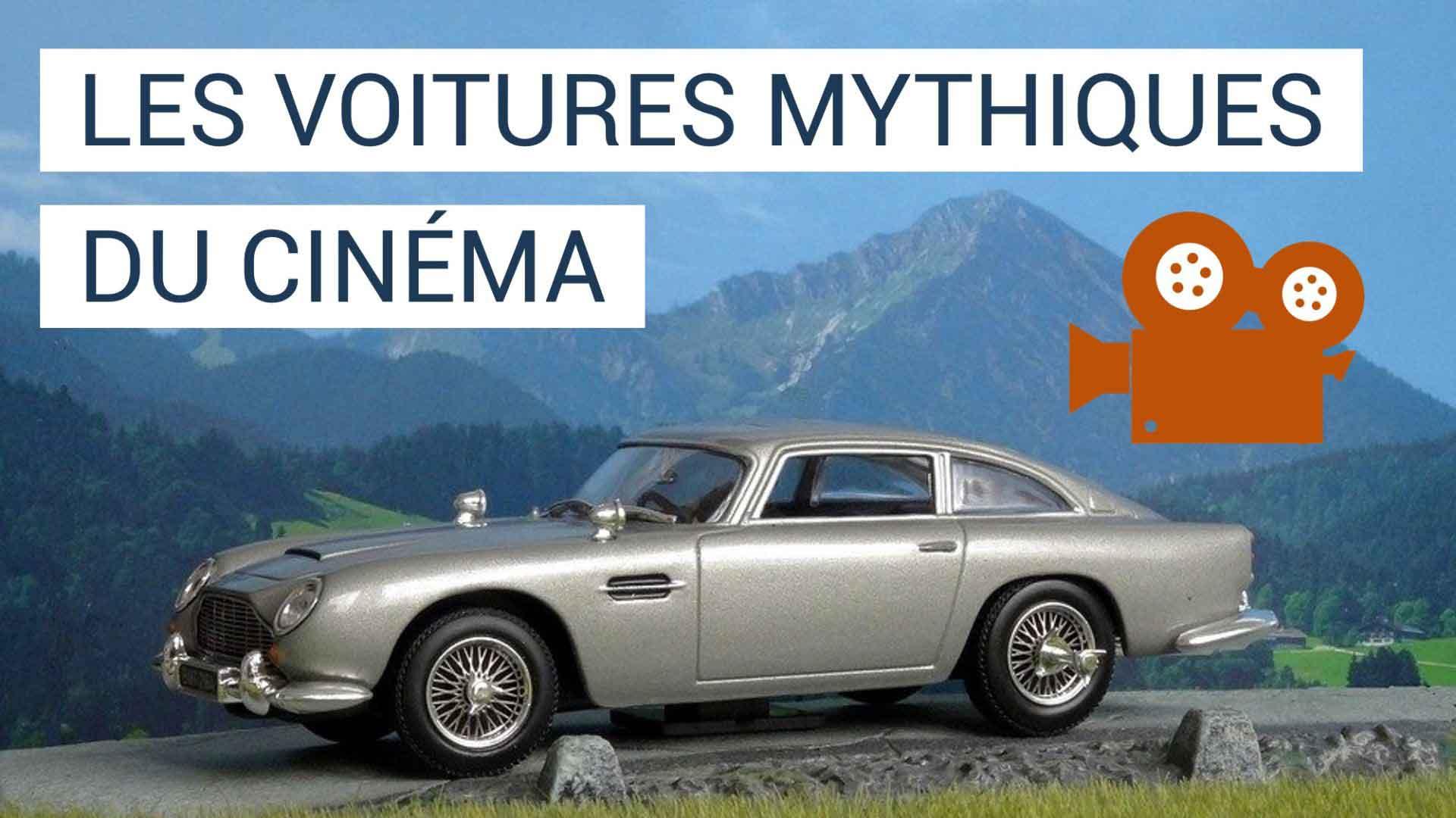 Zoom sur les voitures de cinéma