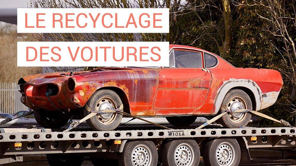 Le recyclage des véhicules hors d'usage