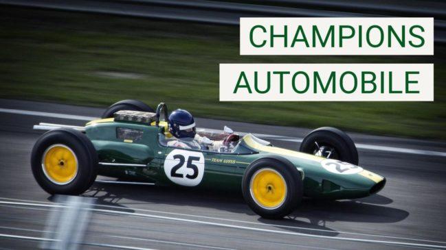 Les champions de l'auto
