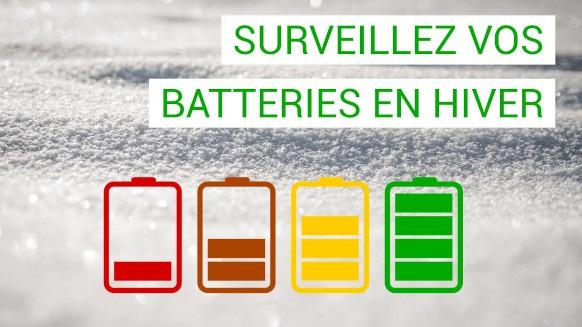 Surveillance de la batterie en hiver