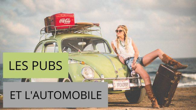 Les publicités et l'automobile
