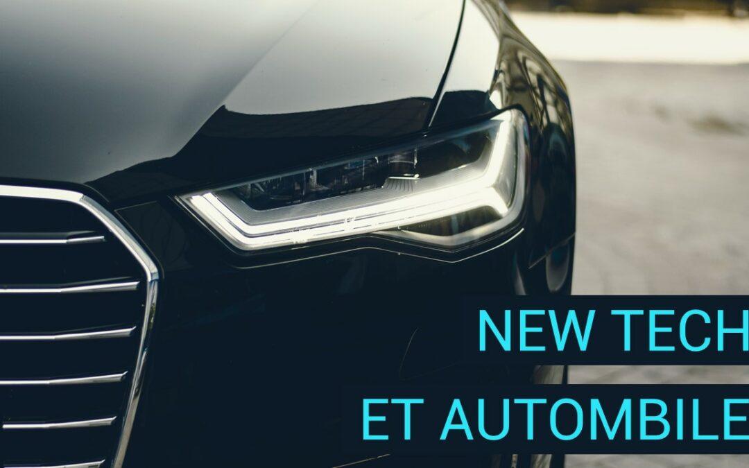 New Tech et automobile