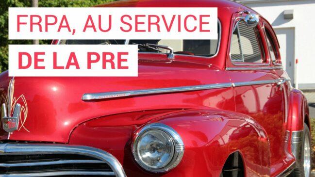 La plateforme FRPA au service de la pièce auto de réemploi