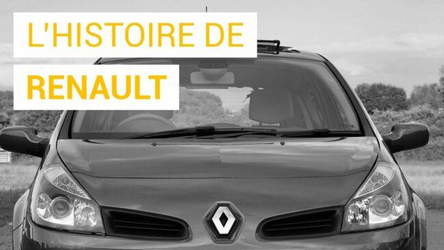 L'histoire de Renault