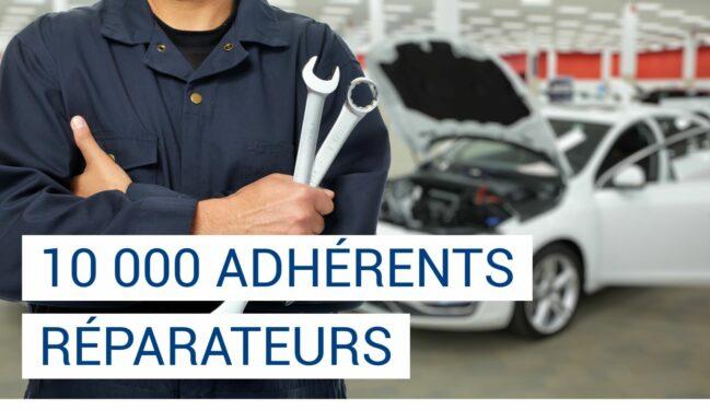 10 000 adhérents sur FRPA